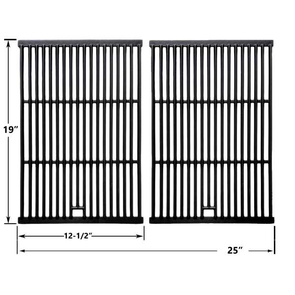 2 PACK CAST IRON COOKING GRIDS FOR CAPTN COOK AND BRINKMANN 2200, 2235, 2250, 2300, 2400, 2400 PRO SERIES, 6305, 6345, 6355, 6430, 810-2200, 810-2200-0, 810-2210 GAS GRILL MODELS  Fits Captn Cook Models:  XG3CKWA  BUY NOW @ http://grillpartsgallery.com/shopexd.asp?id=34011&sid=18751