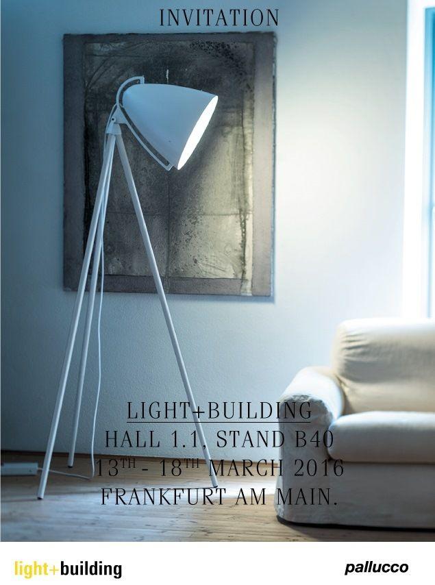 Pallucco at Light+Building, 13th-18th March 2016 - Frankfurt am Main