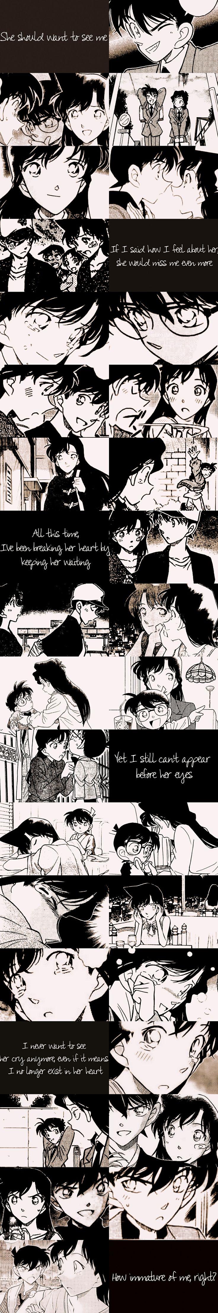 Shinichi and Ran Detective Conan Love Simplemente, amé la imagen <3