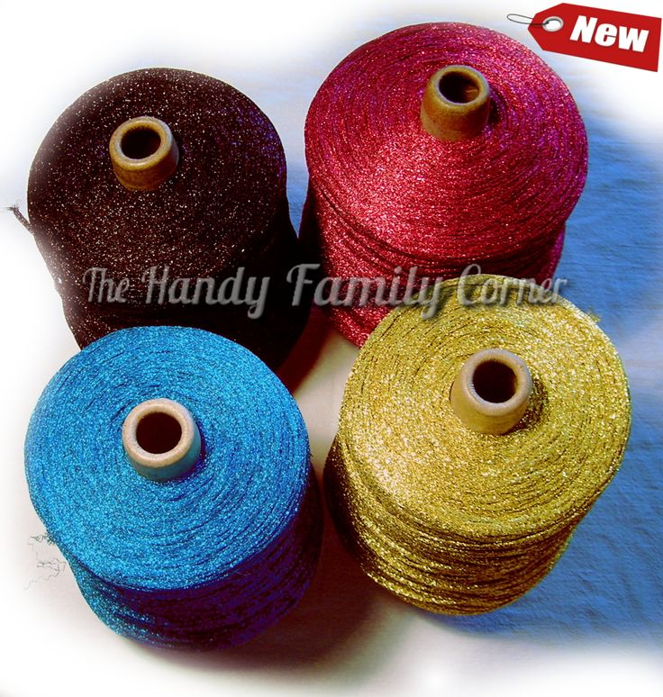 Glitter Lurex Yarn, Shine, sparkle yarn, glamor yarn, yellow color Hobbi yarn, metal yarn, lame, cone yarn, wholesale yarn. SALE! by HandyFamily on Etsy