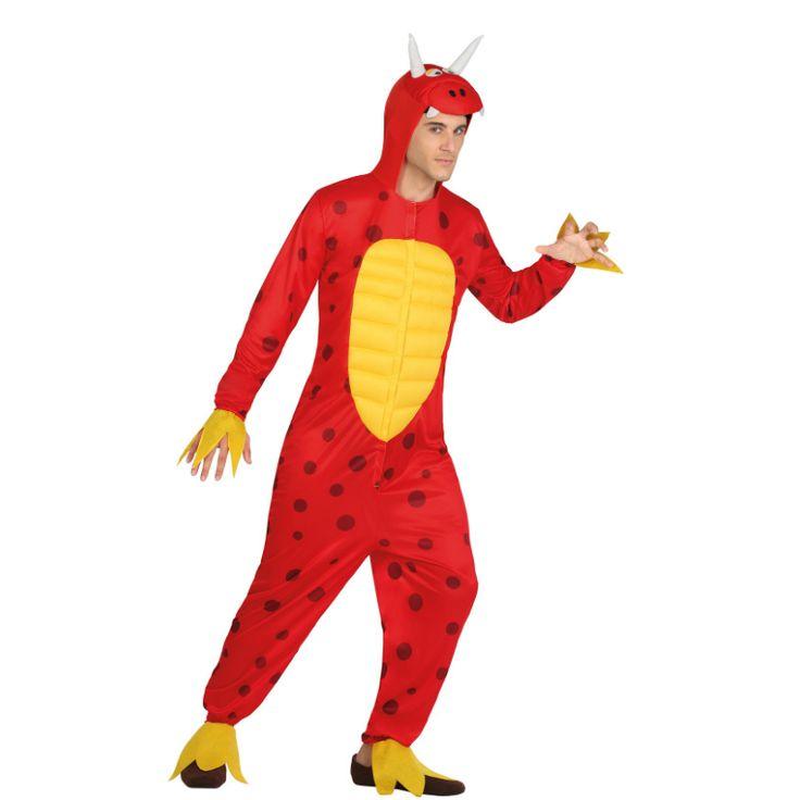 Disfraz de Dragón Rojo #disfraces #carnaval #novedades2015