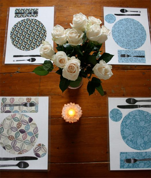 Learning to Set the Table Homemade Placemats (Tutorial by Mariah Bruehl of Playful Learning & 27 best Table Setting for Kids images on Pinterest | Table settings ...