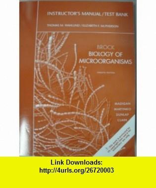 brock biology of microorganisms test bank pdf