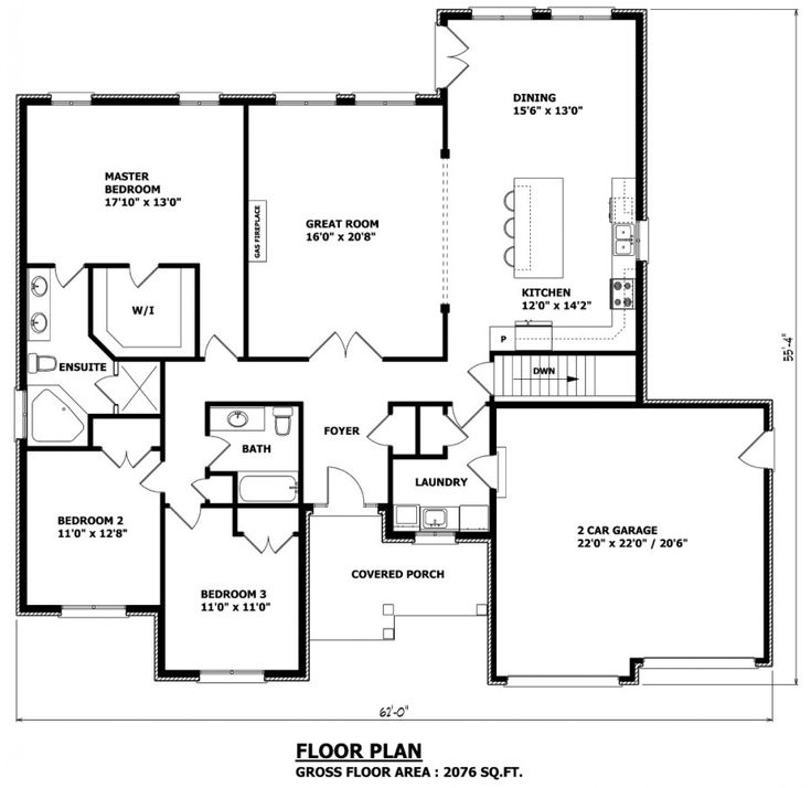 10 best images about floor plans on pinterest canada for Canadian house plans bungalow