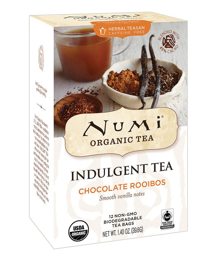 Look what I found on #zulily! Chocolate Rooibos Caffeine-Free Tea - Set of Three by Numi Organic Tea #zulilyfinds