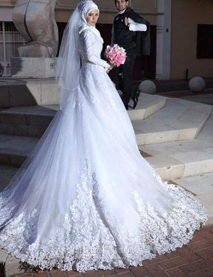 Find More Wedding Dresses Information about Eternal Moment Long Sleeve Muslim Wedding Dress A Line Hijab Arabic Wedding Gown Bride Dress abiti da sposa,High Quality gown corset,China dress suits for baby boys Suppliers, Cheap dress sleeves from Eternal-Moment on Aliexpress.com