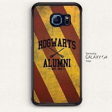 Chevron Hogwarts Alumni for Samsung Galaxy S6 S6 Edge hard case cover