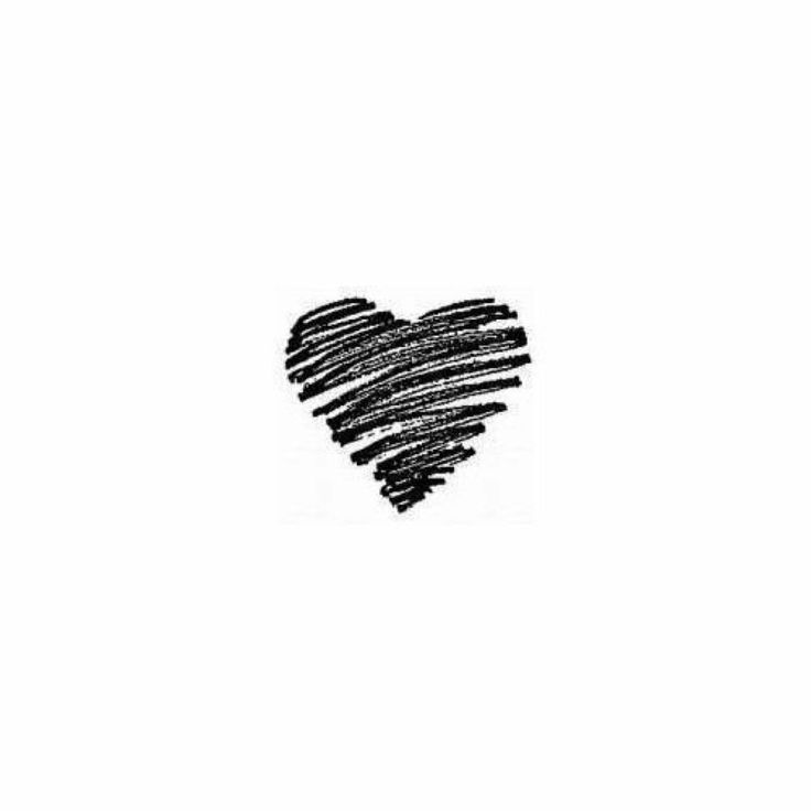 Cœur crayonné