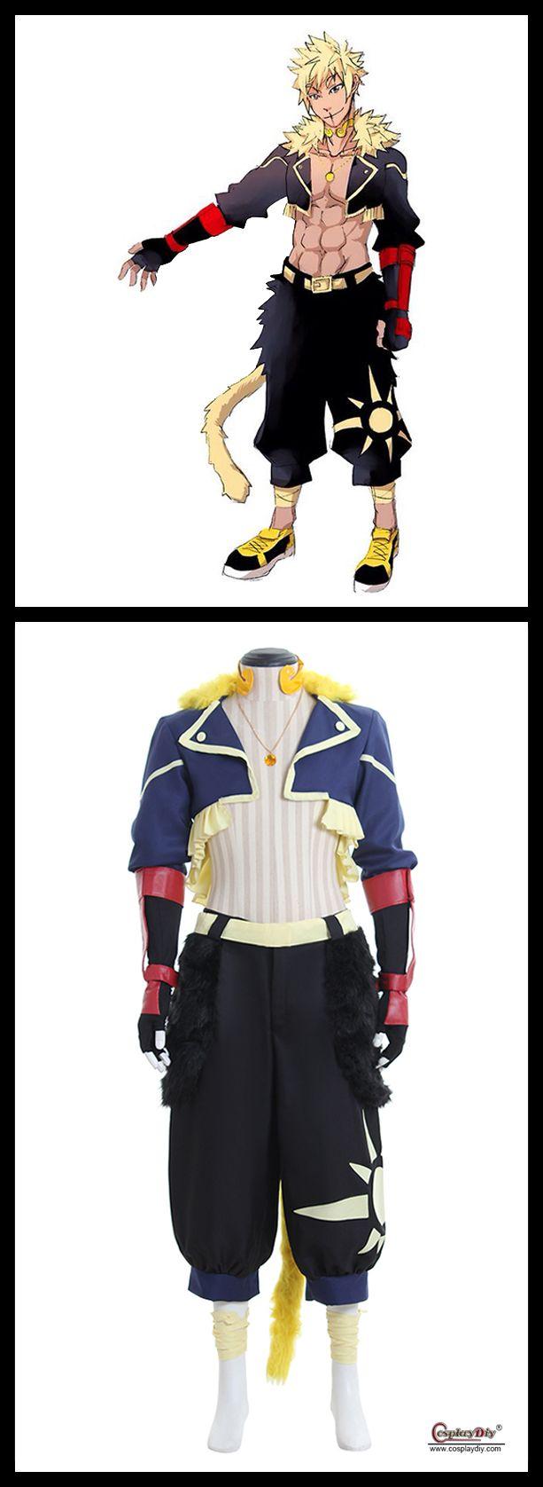 Anime RWBY Sun Wukong Custom Made Costume Cosplay Adult's Jacket Pants Gloves Cosplay