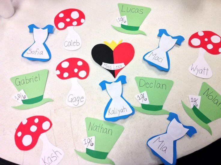 Alice in wonderland bulletin board ideas