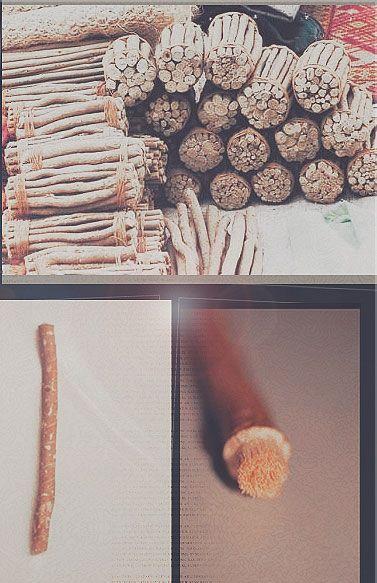 Miswak - periuţa de dinţi naturală