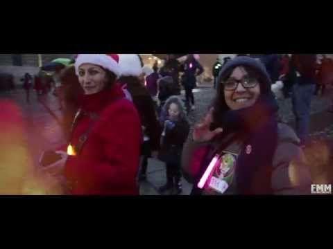 FMM Merry Flashmas 4: L'albero di Natale luminoso vivente a Milano - YouTube