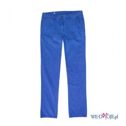 Niebieskie spodnie męskie Bytom, cena ok. 249 zł