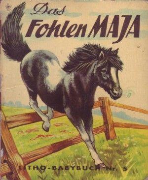 gebrauchtes Buch – Wilma Flake – Das Fohlen Maja Litho-Babybuch Nr.5