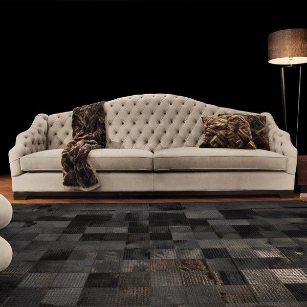 Capital Decor Kind Of People Sofa Italy Tufted Very Large Available In