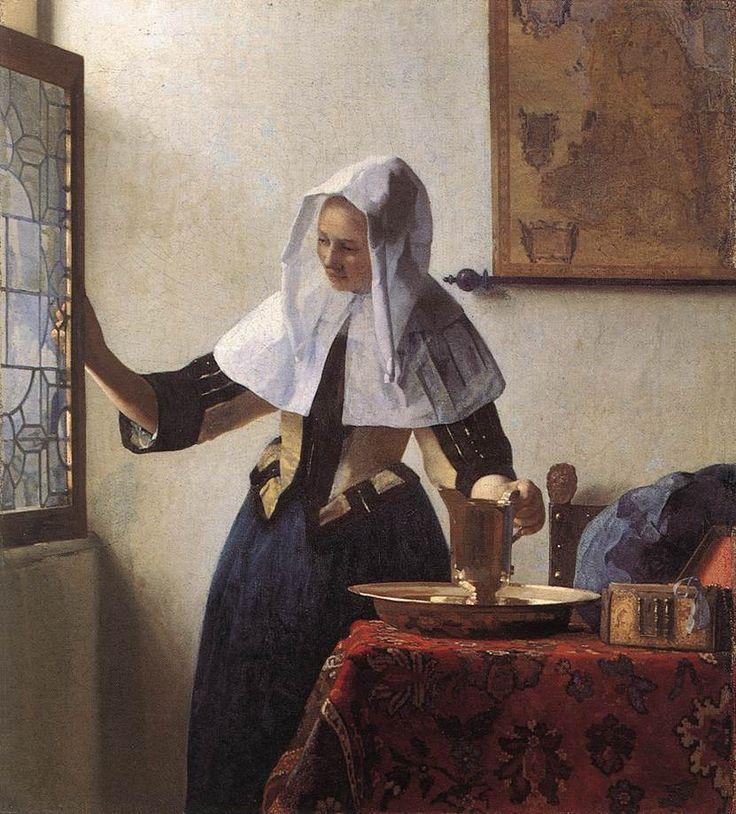 Με την κανάτα του νερού.(1660-62)