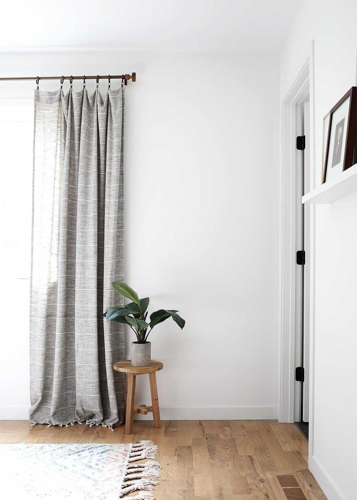 Minimal Masculine Master Bedroom / The Fauxmartha