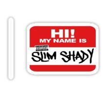 Eminem Name Sticker