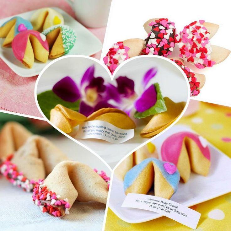 внимания сердечки с пожеланиями печенье рецепт случае