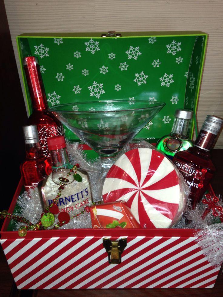 Martini gift basket