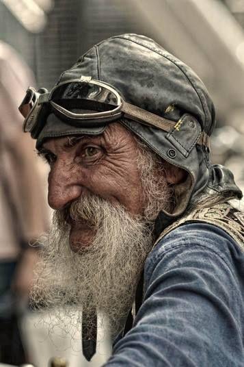 Face of a man (people, portrait, beautiful, photo, picture, amazing, photography, man, pilot)