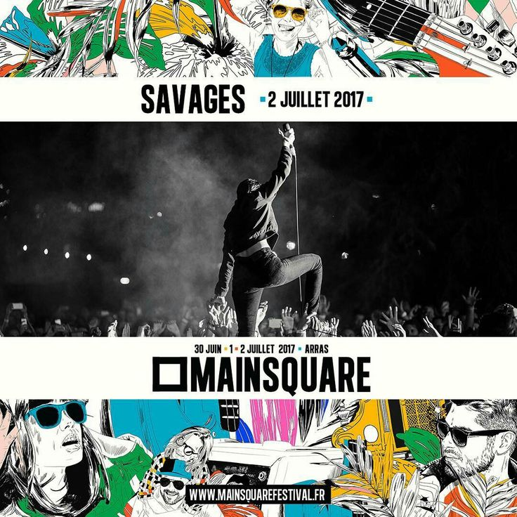 Savages to play Main Square Festival 2017