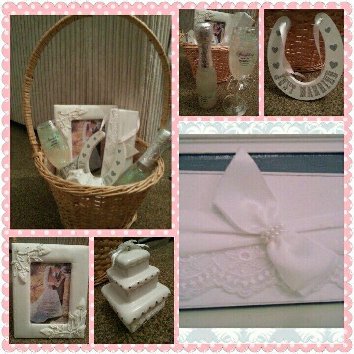 Beautiful Wedding Hamper, made to order. Visit www.bespokebabyhampers.co.uk  #wedding #hamper #giftideas