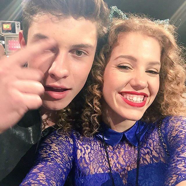Shawn Mendes and Mahogany LOX at the VMA's