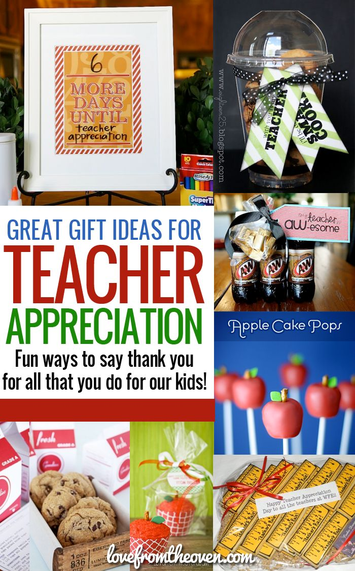 231 best gift ideas images on pinterest christmas gift ideas teacher appreciation gift ideas lots of fun easy and sweet ways to say negle Gallery