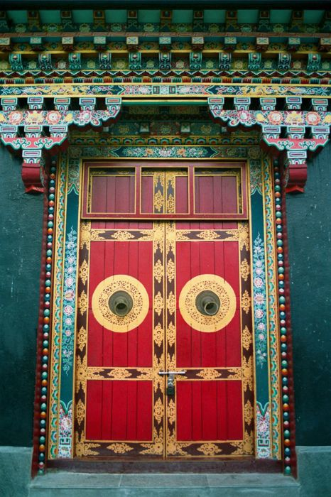 the best doors make the person standing on one side want to know what's standing on the other