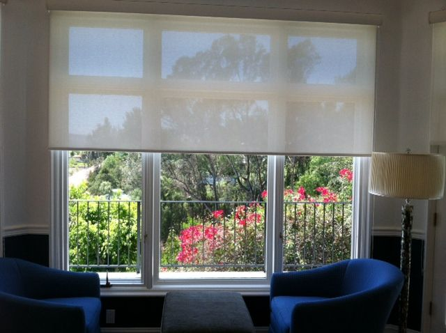 11 best behavioral health window treatments images on for Motorized shades los angeles