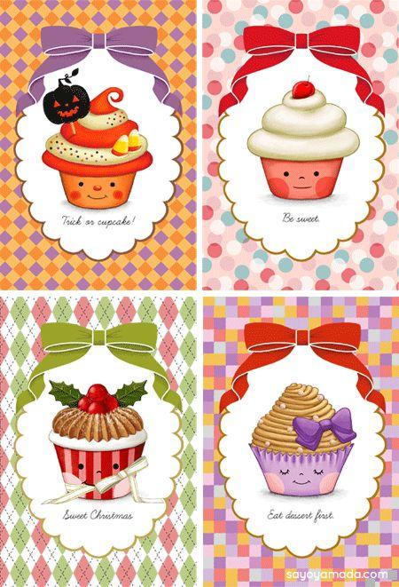 Cute cupcake picture