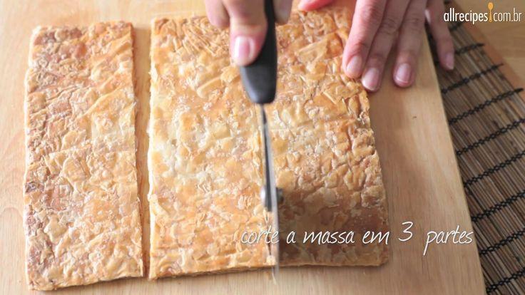 Como fazer torta mil-folhas