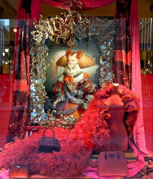 Hermès window display, Paris.