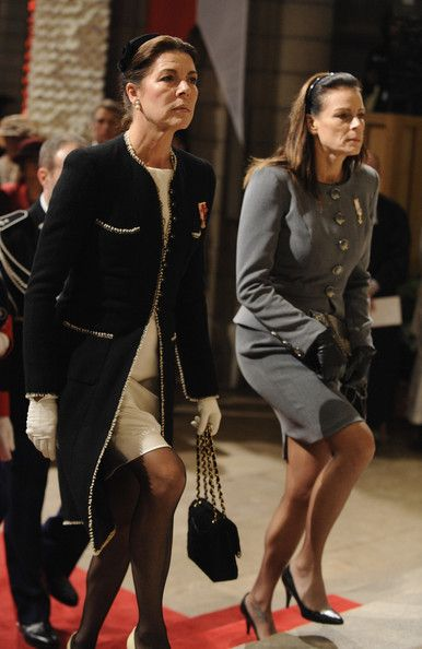 Princess Caroline Photo - Monaco National Day -Celebration of Mass in Cathedrale Notre-Dame Immaculee