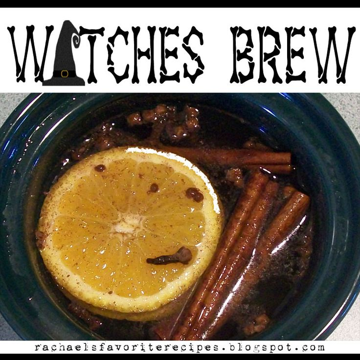 Witches Brew. This will leave your whole house smelling like fall! Made in a crock pot!