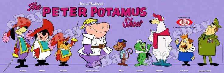 Extra Large Peter Potamus Show Panoramic Photo Print Hanna