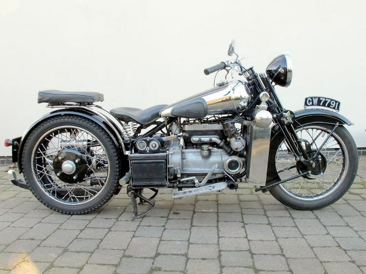 One of only ten 750cc, four-cylinder Brough Superior BS4s built, this machine…