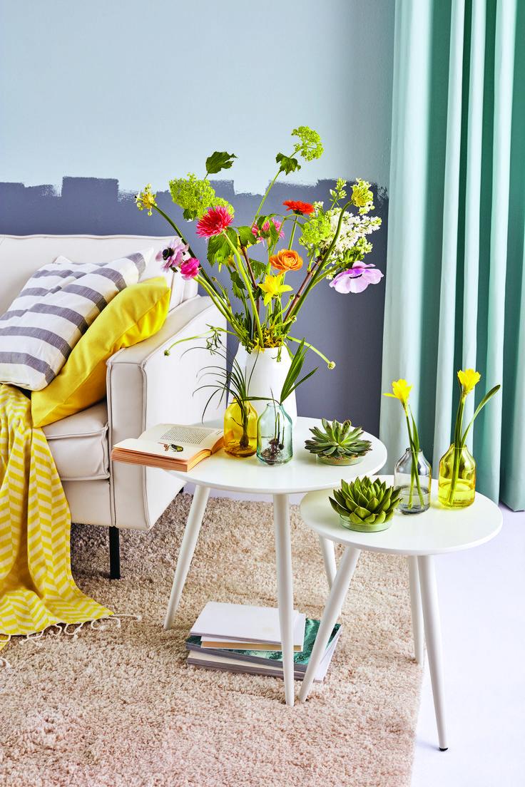 Maak je woonkamer lenteklaar met onze HEMA woonaccessoires. #HEMA #huis #lente