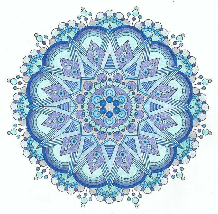 146 best images about Finished Mandalas in Color on Pinterest