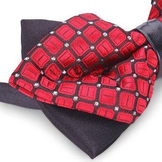 Men Bow Tie The Groom Sharp Corner Polyester Wedding Accessories at Banggood