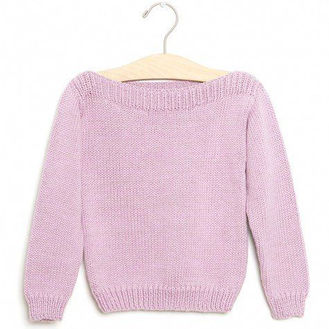 Toddler Little Lief Boat Sweater -- gorgeous lilac!