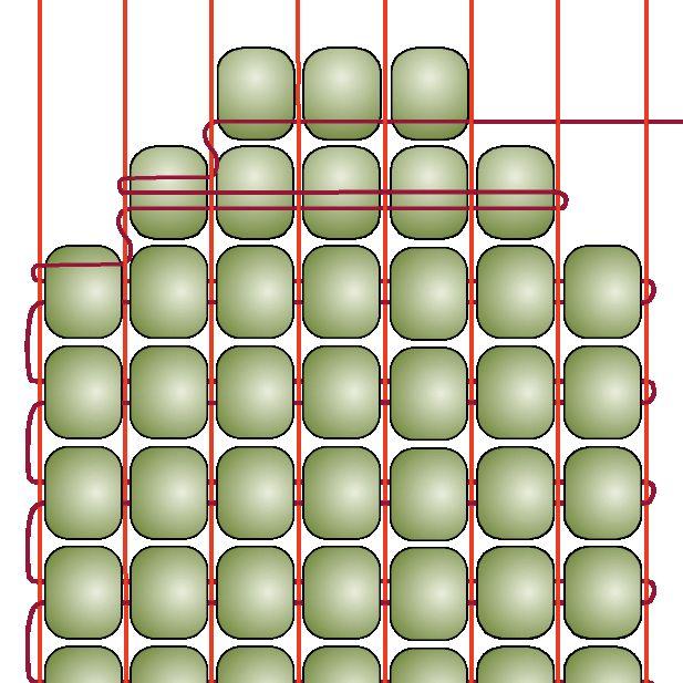 Beading on a Loom - Decreasing ~ Seed Bead Tutorials