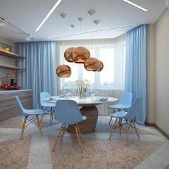 Cocinas de estilo moderno de design studio by Mariya Rubleva