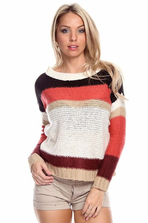 sexy cardigan    Most popular tags for this image include: knit sweater, stripe sweater ...