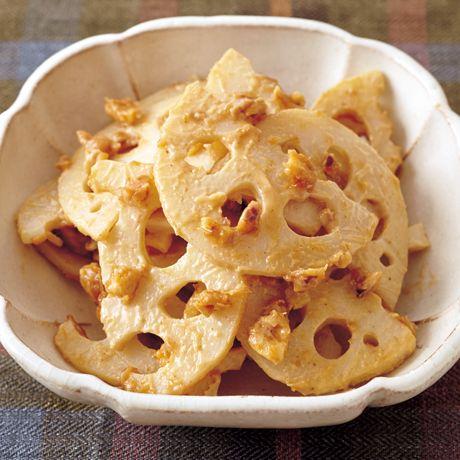 れんこんのピーナッツあえ | 重信初江さんの小鉢の料理レシピ | プロの簡単料理レシピはレタスクラブネット