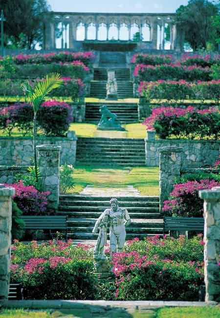 The Versailles Gardens at the One Ocean Club, Bahamas