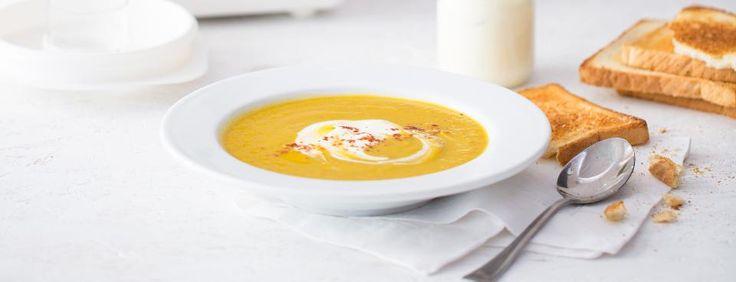 Mrkvová polévka s medem