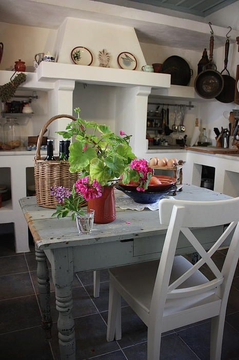 greece warm and welcoming greek kitchen - Kitchen Design Greece