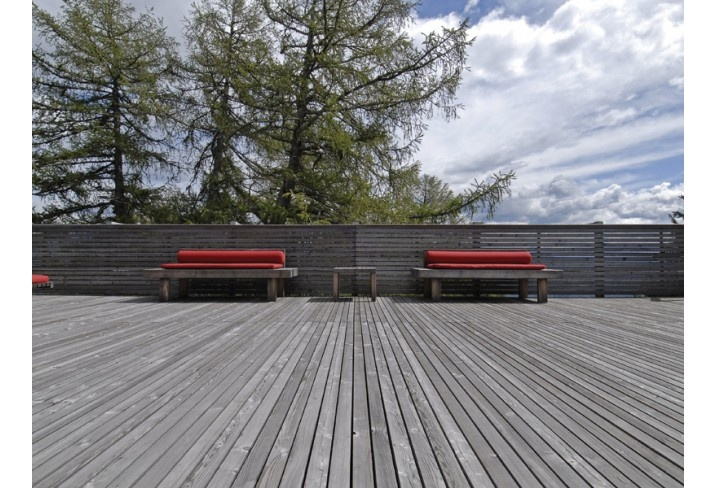 Vigilius Mountain Resort hotel in South Tyrol, Italy